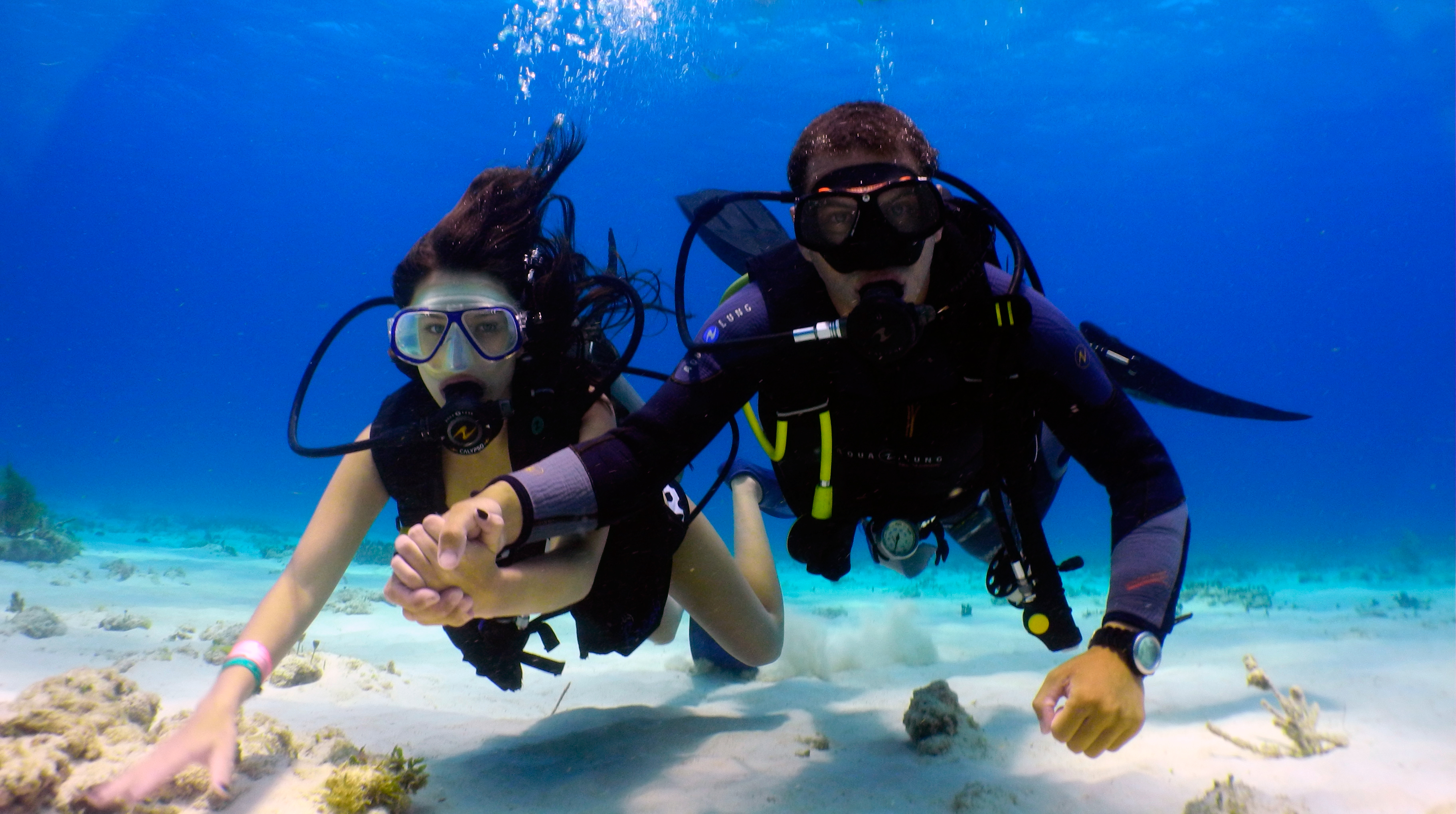 Diving lessons in cancun - Dive in scuba ...